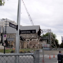 AFTER: Christchurch Cathedral 2012