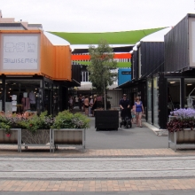 Container Mall (called: Re:START mall)