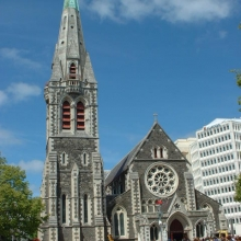 BEFORE: Christchurch Cathedral 2001