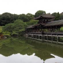 Bridge over the inner gardens at the Shinto shrine