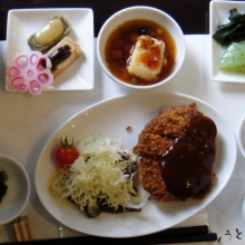 Japanese/Western-style lunch