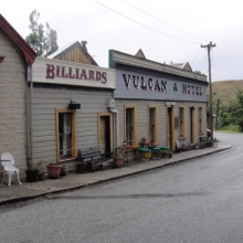 Haunted Vulcan Hotel, St. Bathans