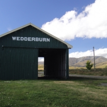 Old Wedderburn train station