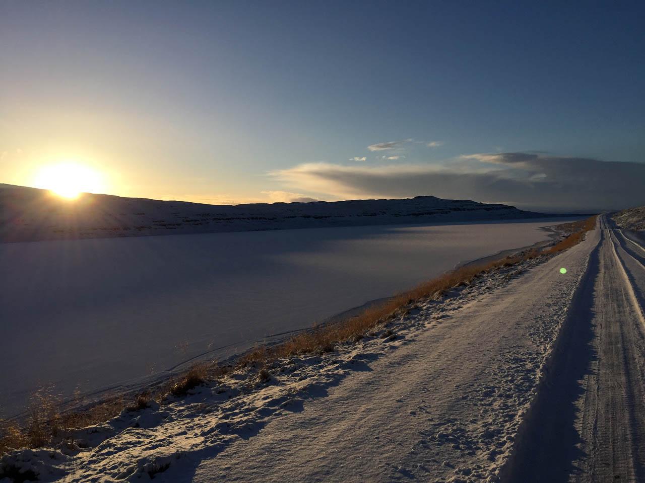 Lake near Erikstadir