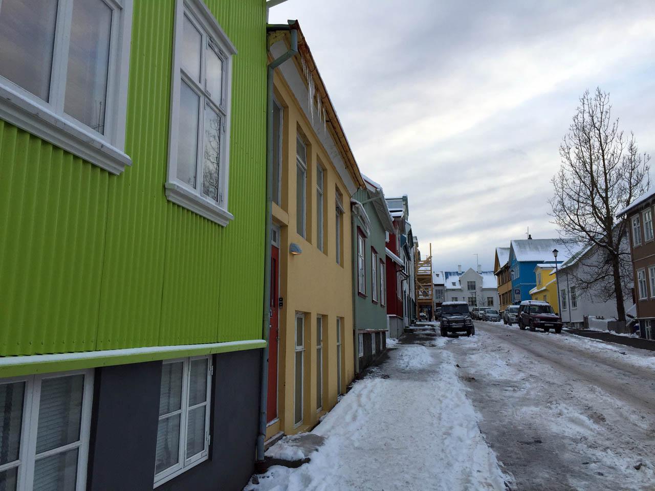 Reykjavik color