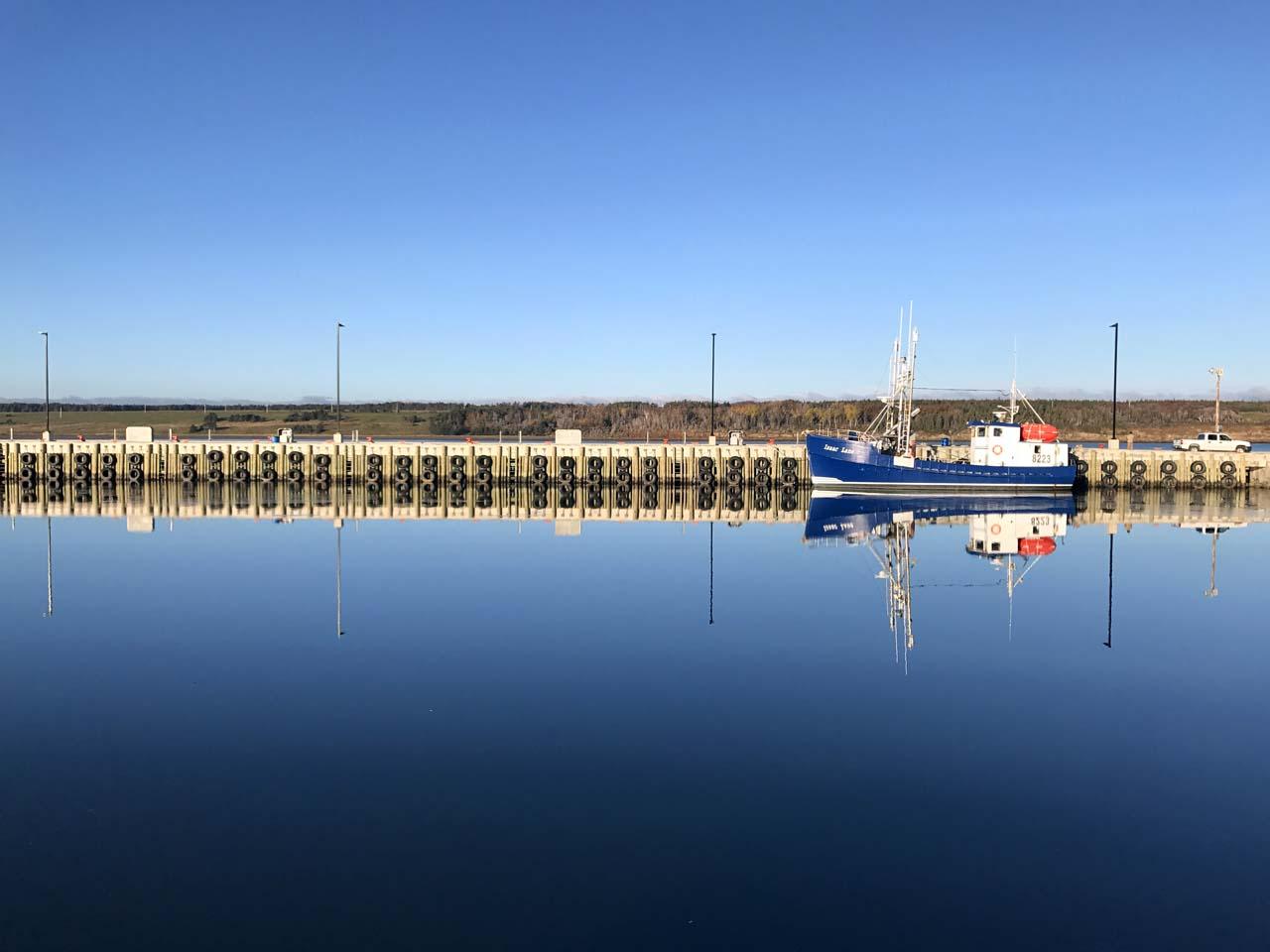 cheticamp-boat