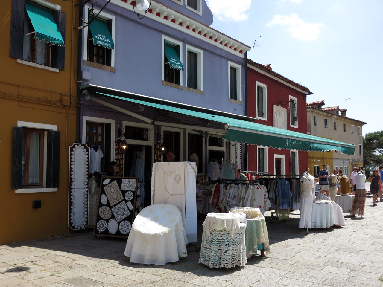 Lace Stands in Burano
