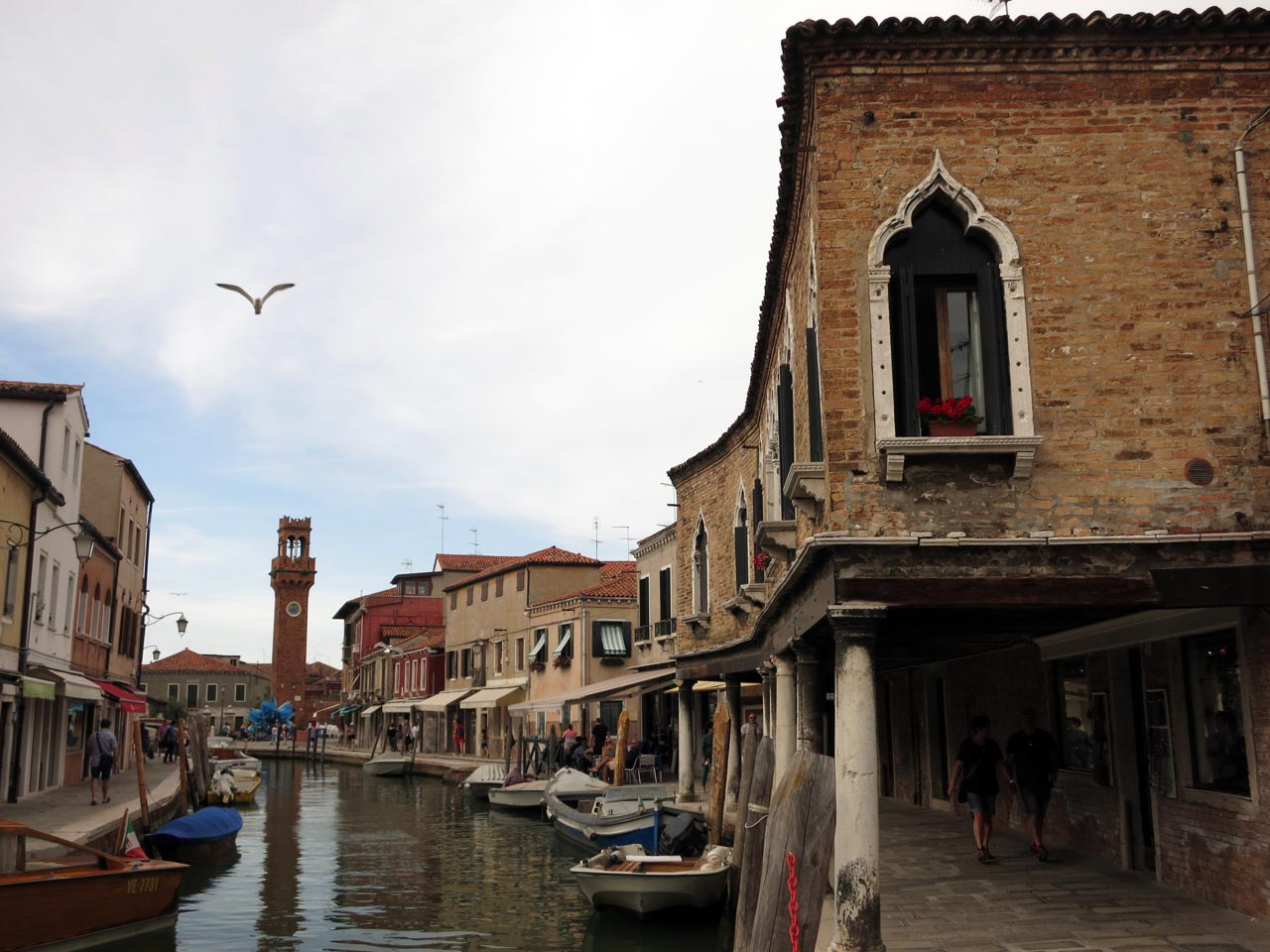 Sotoportego (covered walkway) in Murano