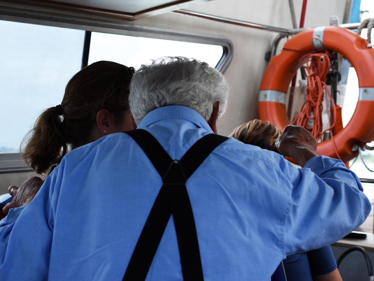 St. Erasmo boat chat